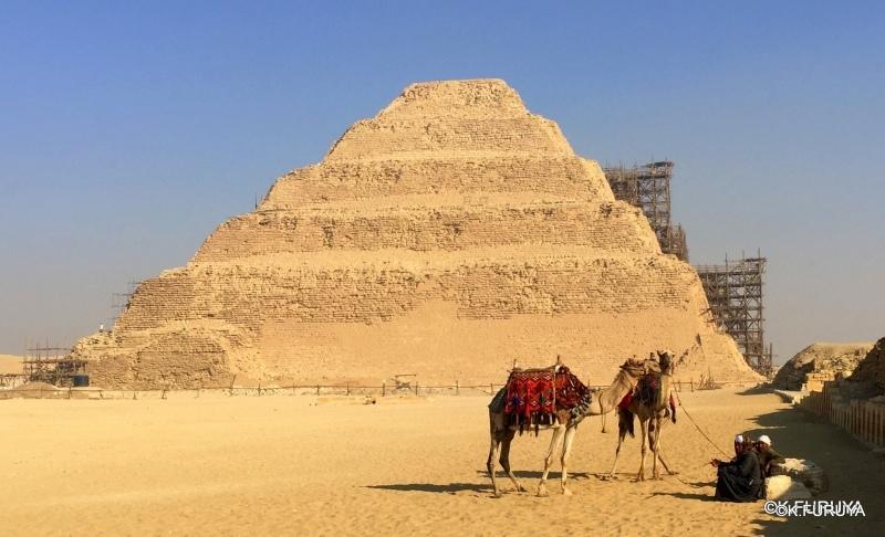 """エジプト史最古の史跡を訪ねて  \""""サッカラ\""""_a0092659_21043619.jpg"""