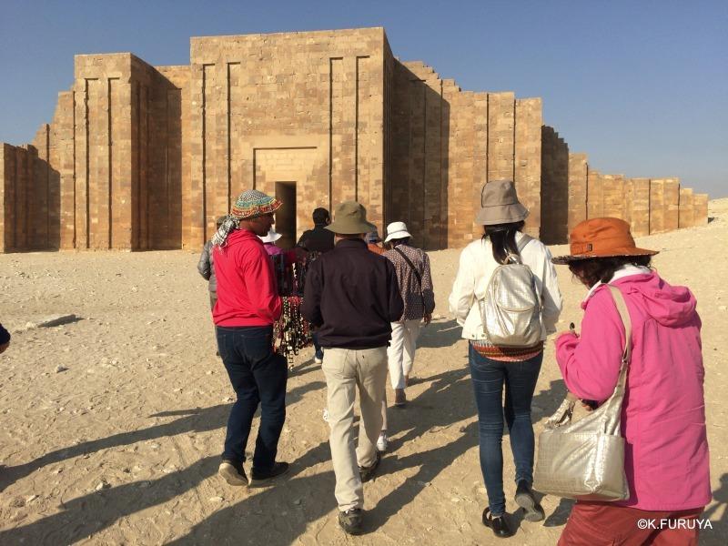 """エジプト史最古の史跡を訪ねて  \""""サッカラ\""""_a0092659_21103229.jpg"""