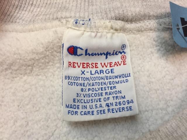 "Champion Reverse Weave \""Made In U.S.A.!!(大阪アメ村店)_c0078587_23105071.jpg"