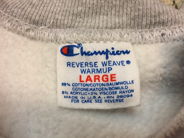 "Champion Reverse Weave \""Made In U.S.A.!!(大阪アメ村店)_c0078587_23112719.jpg"