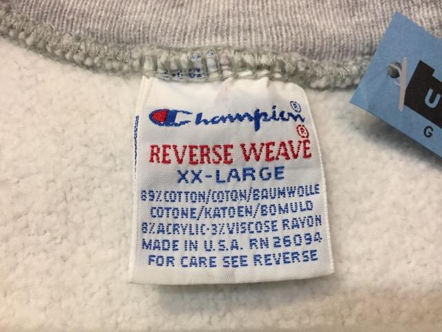 "Champion Reverse Weave \""Made In U.S.A.!!(大阪アメ村店)_c0078587_2312278.jpg"