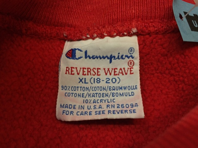 "Champion Reverse Weave \""Made In U.S.A.!!(大阪アメ村店)_c0078587_23202919.jpg"