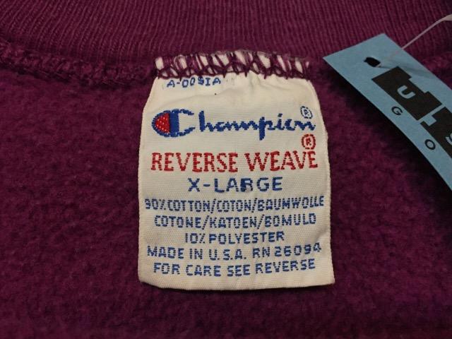"Champion Reverse Weave \""Made In U.S.A.!!(大阪アメ村店)_c0078587_23211992.jpg"