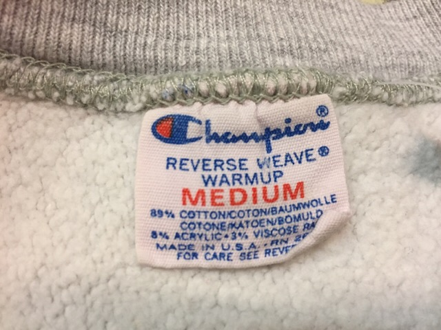 "Champion Reverse Weave \""Made In U.S.A.!!(大阪アメ村店)_c0078587_23215361.jpg"