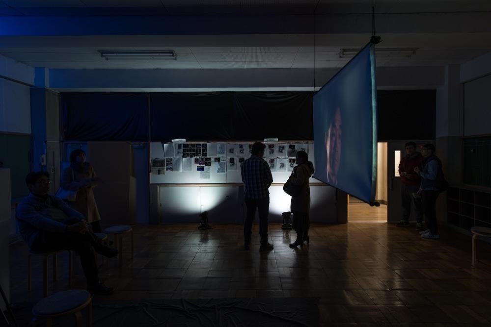 Ernesto\'s studio:OPEN STUDIOS_a0216706_13533760.jpg