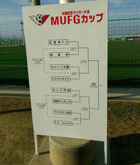 U12    ⚽第10回 卒業記念サッカー大会 MUFGカップ 中央大会‼_f0138335_17082464.jpg