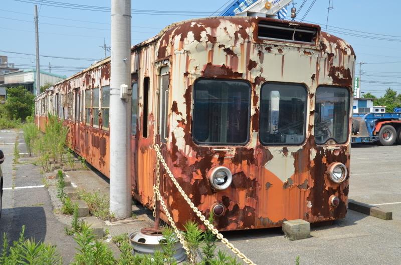 茨城に残る日立電鉄の保存車たち(後編) : 饂飩と蕎麦