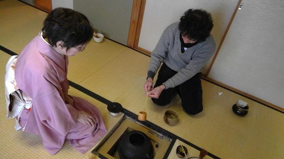 日曜朝教室のお茶会_e0175020_21472875.jpg