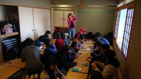 日曜朝教室のお茶会_e0175020_21541389.jpg