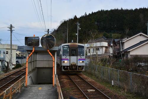 福塩線 塩町駅 キハ1206 : 鉄旅「各駅停車」