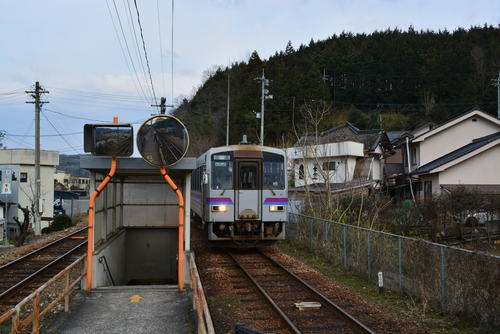 福塩線 塩町駅 キハ1206 : 鉄旅...