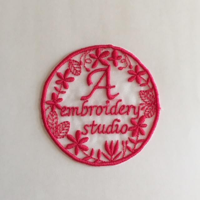 A刺繍工房のロゴ刺繍♪_c0316026_17265831.jpg