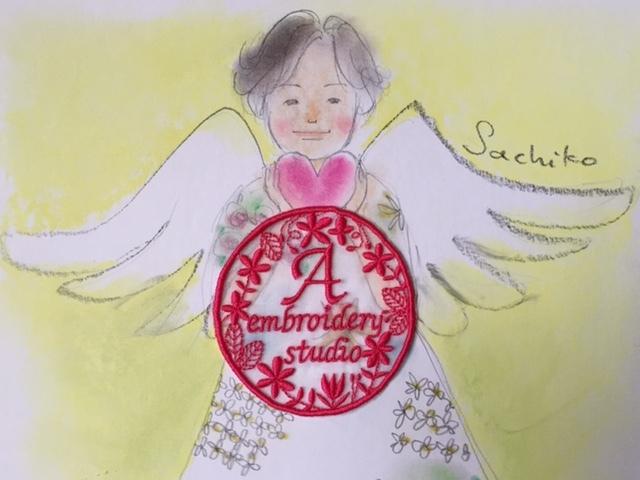 A刺繍工房のロゴ刺繍♪_c0316026_17342060.jpg