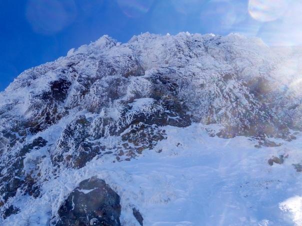 冬季アルパイン中山尾根_b0133032_14235665.jpg