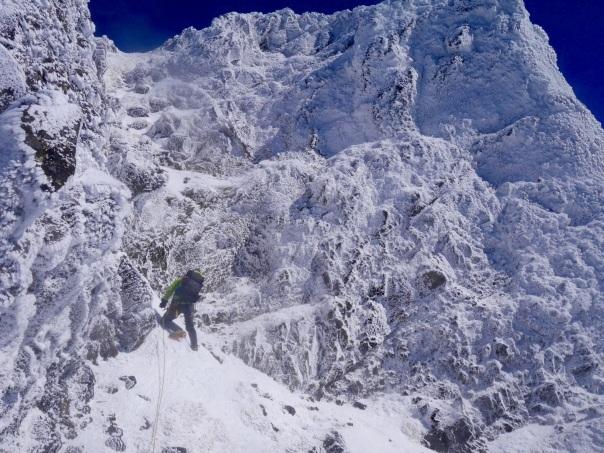 冬季アルパイン中山尾根_b0133032_14252975.jpg