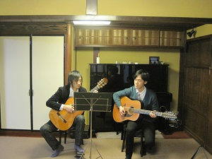 ギターの奏でる2つの世界Ⅱ_f0233340_16232011.jpg
