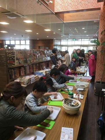 THUTAYA西宝町店「和三盆ワークショップ」_c0227958_08313946.jpg