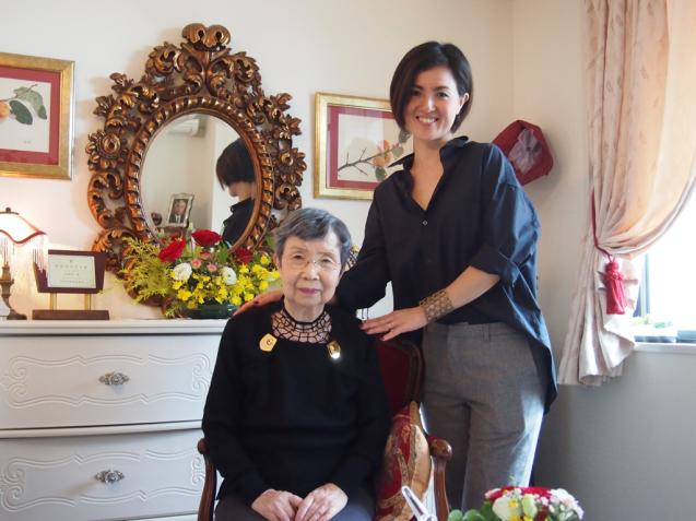 87歳のインテリア 芦屋市T邸 / ご自宅訪問_f0375763_12401186.jpg