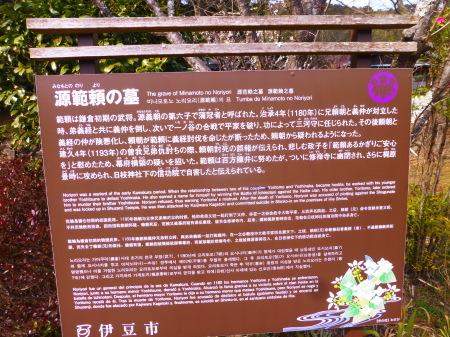 静岡県修善寺シリーズ  源範頼の墓_b0011584_17511359.jpg