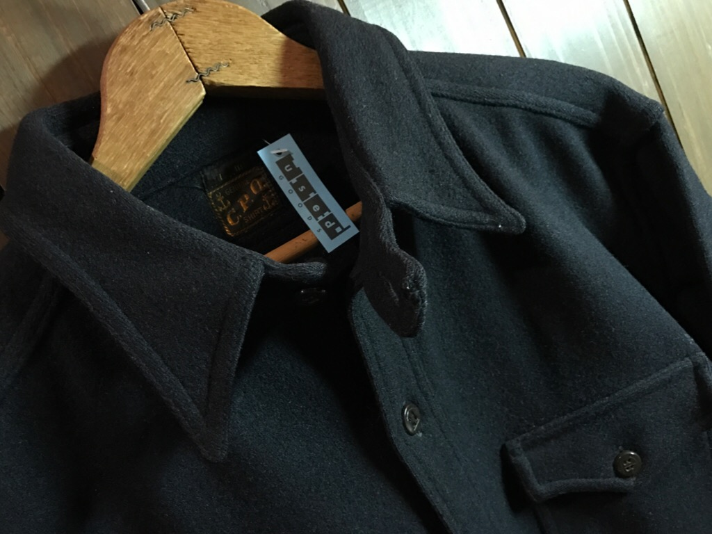 神戸店3/1(水)ヴィンテージ&スーペリア入荷!#6 20\'s C.P.O.Shirt!US.Navy Item!!!_c0078587_17261033.jpg