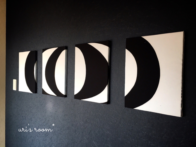 和室の模様替え!またファブリックパネルを作りました(´∀`)そして週末からのスーパーセールで狙うもの。_a0341288_19584456.jpg