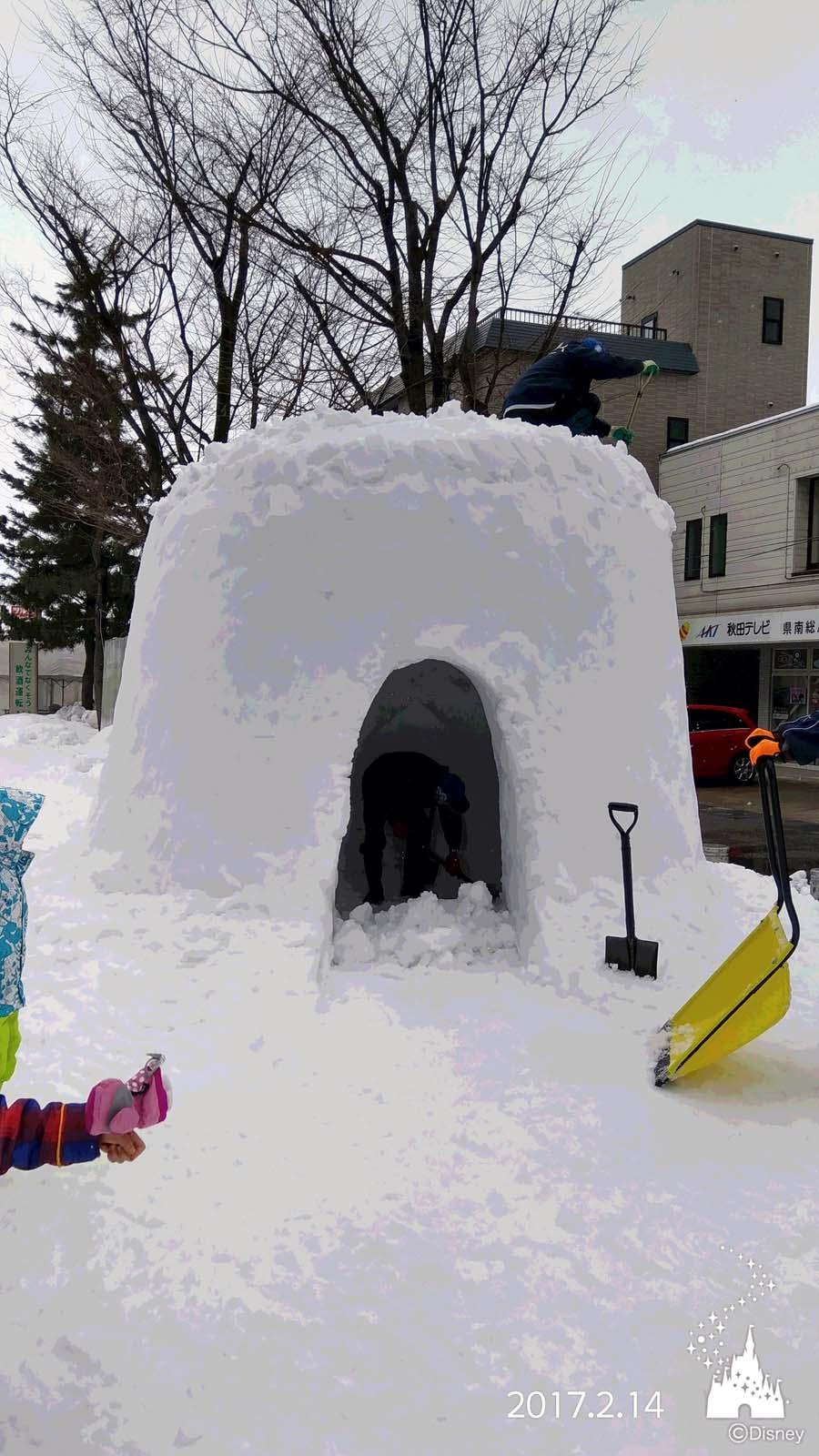 横手の雪まつり かまくら_d0353789_13582083.jpg