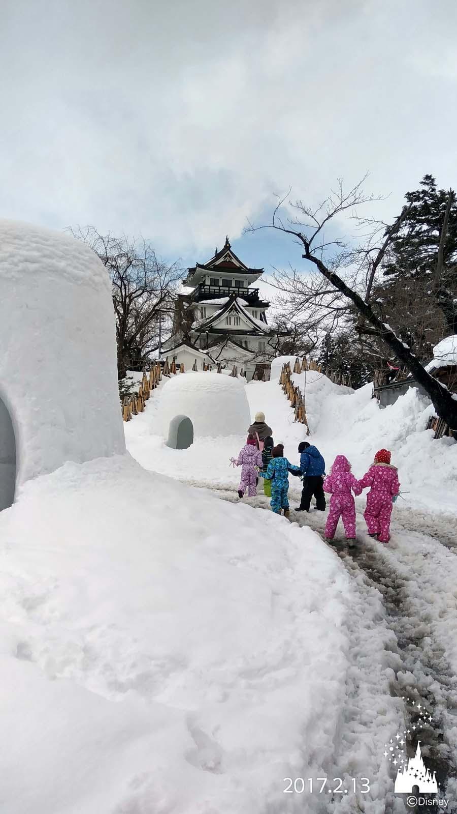 横手の雪まつり かまくら_d0353789_13583037.jpg