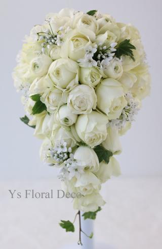 春のお花をいれたティアドロップブーケ 目黒雅叙園さんへ_b0113510_20141780.jpg
