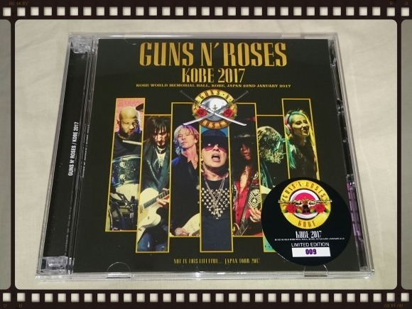 GUNS N\' ROSES / KOBE 2017_b0042308_10355770.jpg