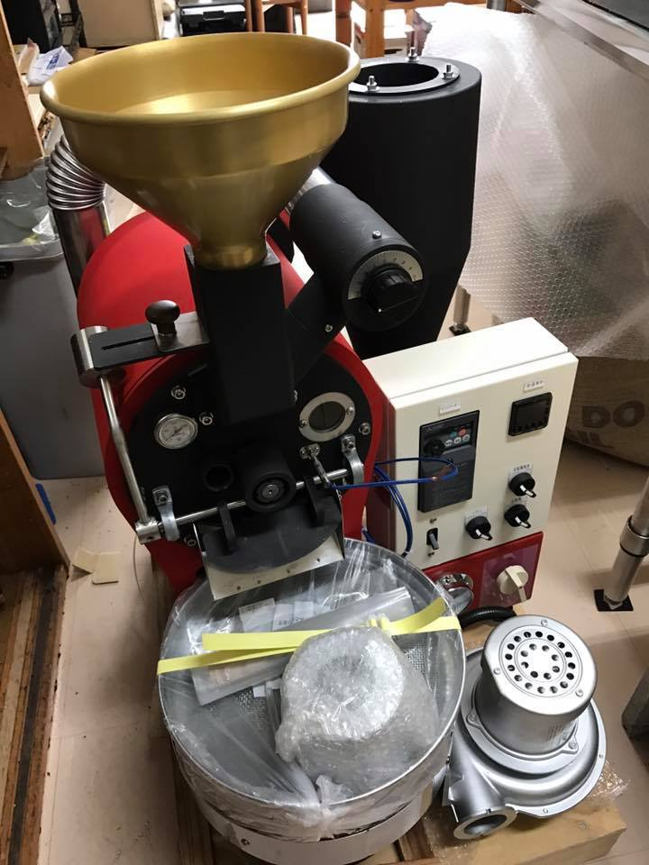 長崎に焙煎機を設置しました。_c0020639_16400963.jpg