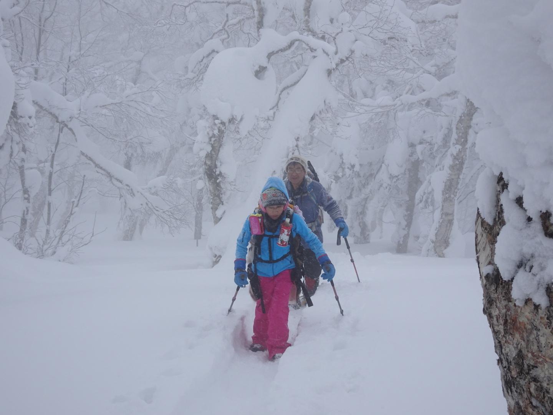 徳舜瞥山、2017.2.25-同行者からの写真-_f0138096_09480120.jpg