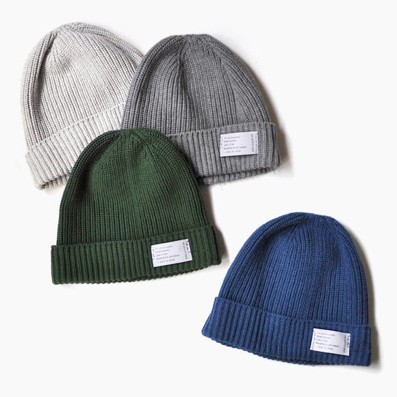 Wholegarment Cotton Knit Cap _d0193211_17282580.jpg