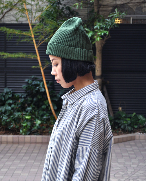 Wholegarment Cotton Knit Cap _d0193211_17314588.jpg