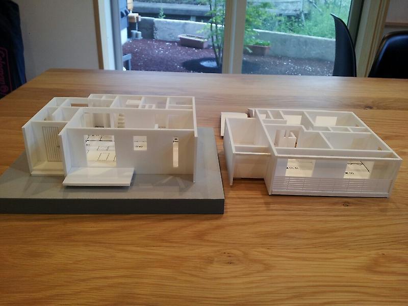 我峰の家 住宅模型_d0354922_12031842.jpg