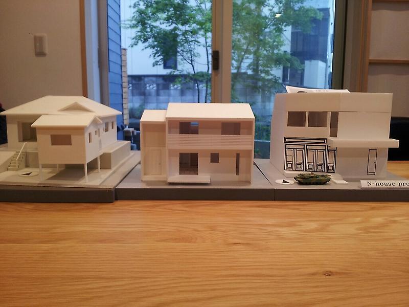 我峰の家 住宅模型_d0354922_12031906.jpg
