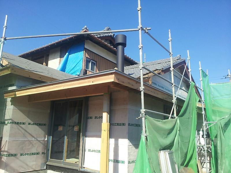 【元総社の家】煙突がつきました。_d0354922_12051010.jpg