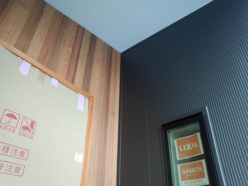 【沼田空デッキの家】外壁にレッドシダー_d0354922_12101754.jpg