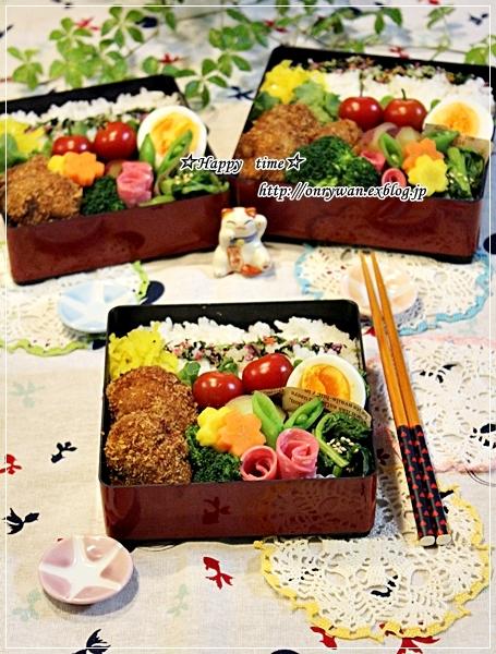 メンチカツ弁当と牡蠣ふりゃぁ~♪_f0348032_18275726.jpg