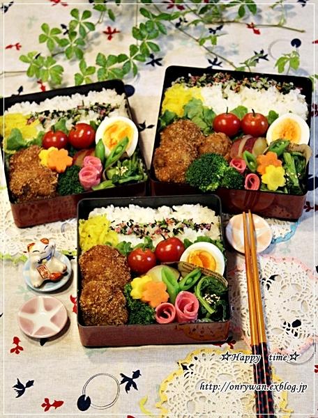 メンチカツ弁当と牡蠣ふりゃぁ~♪_f0348032_18280609.jpg