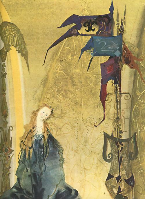 チェコの画家:ミルコ・ハナークの美しい挿絵_c0084183_10345855.jpg