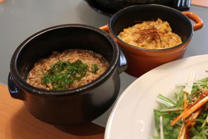 春野菜のビビンバ、肉味噌と卵味噌がミソ_a0223786_15374557.jpg