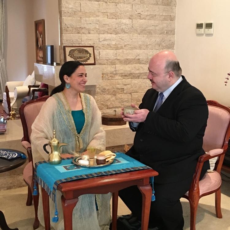 ヨルダン王国大使ご夫妻と_d0334837_15380246.jpg