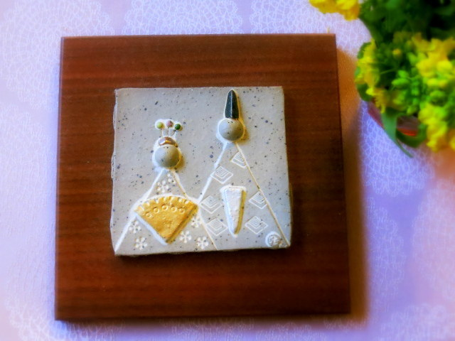 ひなまつり3色ムース*アトリエ・ド・フロマージュの限定ケーキ_f0236260_17591486.jpg