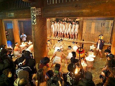 裸押合い祭り(ねこしき&豊年踊り)_c0336902_15130024.jpg