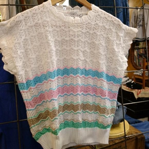 PW かわいい半袖ニット&半袖スウェットあります!_a0108963_01014652.jpg