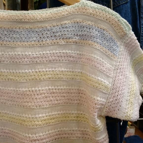PW かわいい半袖ニット&半袖スウェットあります!_a0108963_01023751.jpg