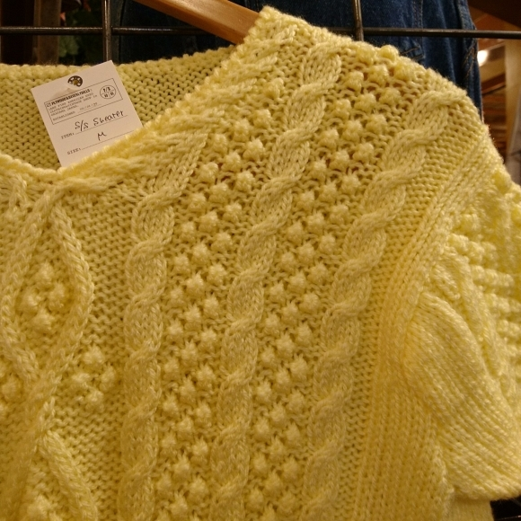 PW かわいい半袖ニット&半袖スウェットあります!_a0108963_01142895.jpg