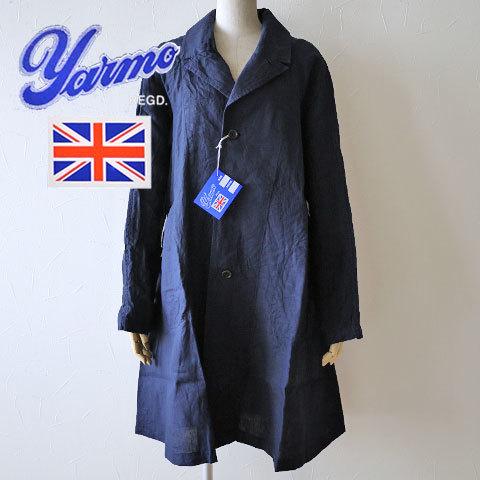 Yarmoの人気ラグランリネンコート入荷しています♪_b0274170_18462685.jpg