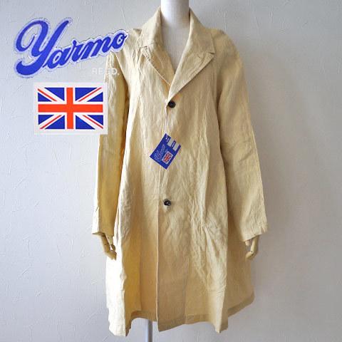 Yarmoの人気ラグランリネンコート入荷しています♪_b0274170_18463359.jpg