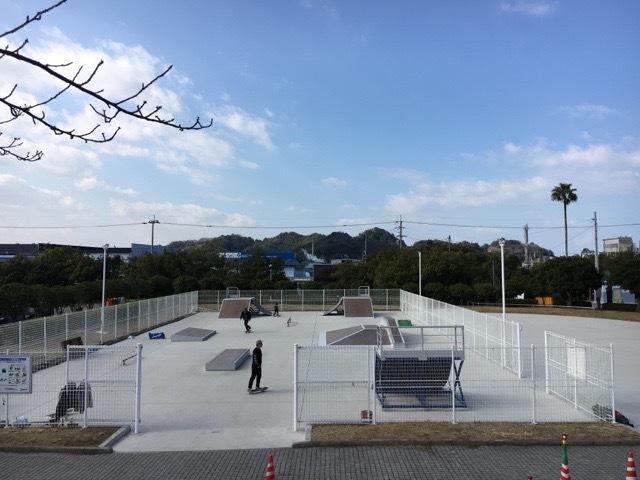 新居浜黒島海浜公園スケートボードスクール_d0337795_01333692.jpg